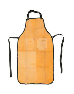 Leather-Welding-Safety-Apron-Full-Length-with-Chest-Pockets