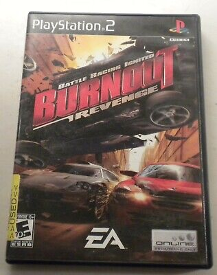 Burnout: Revenge (Sony PlayStation 2, 2005) Complete with Box & Instructions, used for sale  Shipping to Nigeria