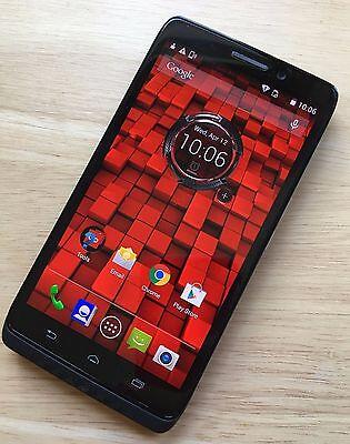 Android Phone - Mint~ MOTOROLA DROID MAXX 16GB BLACK VERIZON ANDROID CELL PHONE XT1080 UNLOCKED