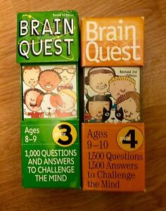 Brain Quest set (Grades 3 and 4)