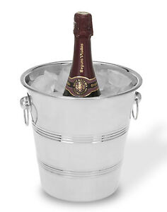 Stainless Steel Ice Bucket Wine Cooler Champagne Cooler