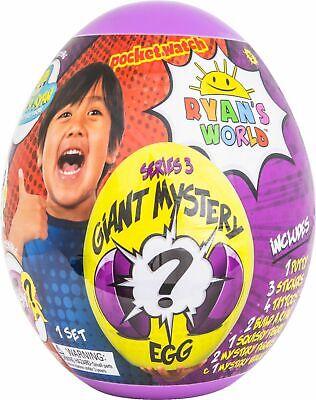 Ryan's World - Series 3 Giant Mystery Egg - Blind Box