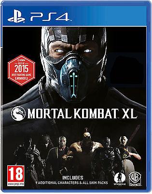 Mortal Kombat XL PlayStation 4 (PS4)