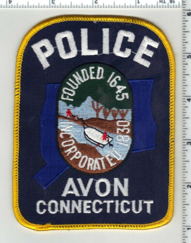 Avon Police (Connecticut) 4th Issue Shoulder Patch