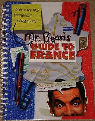 Collectors Mr Bean's Guide To France Hard Back Book
