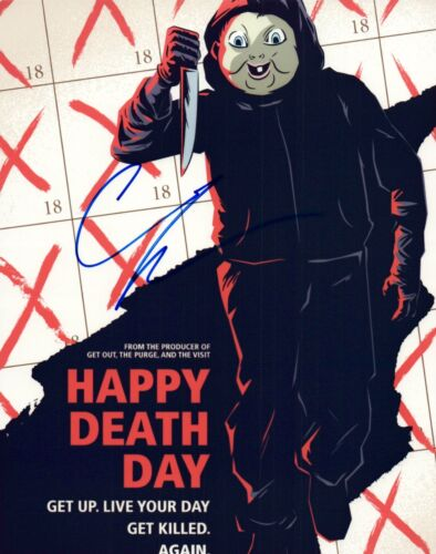 Christopher Landon Signed Autographed 8x10 Photo HAPPY DEATH DAY Director COA