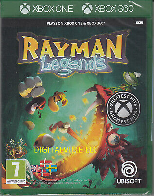 Rayman Legends Xbox 360 and Xbox One Compatible Brand New Factory Sealed