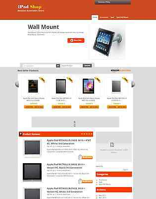 Turnkey Amazon Ipadaffiliate Store Website Script Huge Potential