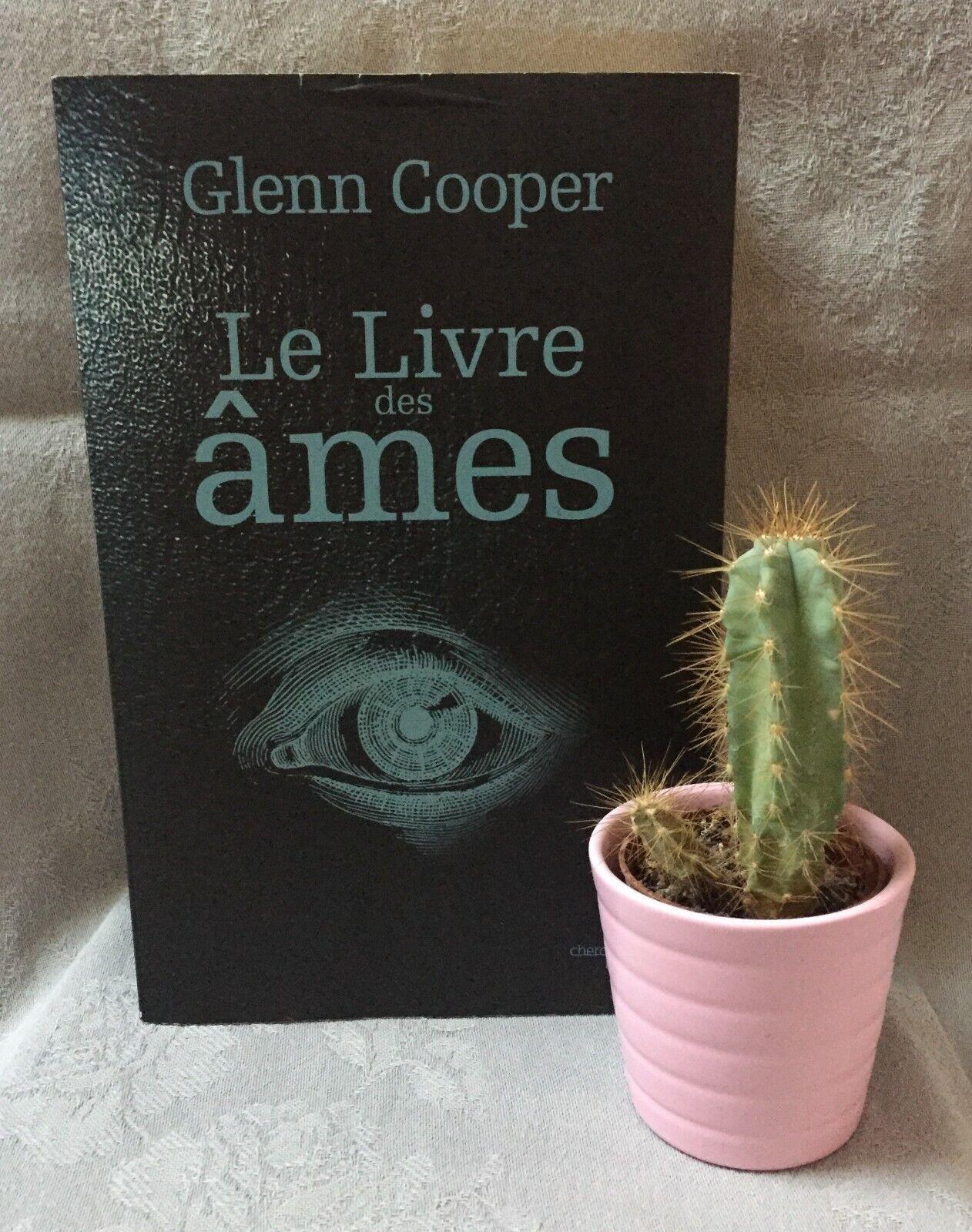 Roman thriller 'le livre des âmes' de glenn cooper – bon état