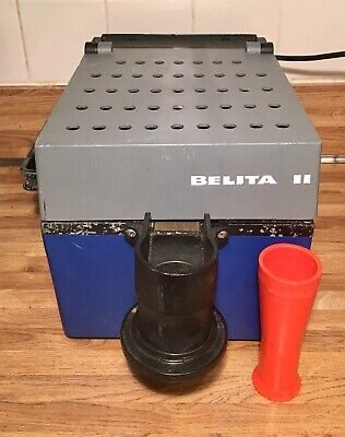 Vintage Belita Ii Manual Automatic Coin Counter Sorter Made In Italy Tested