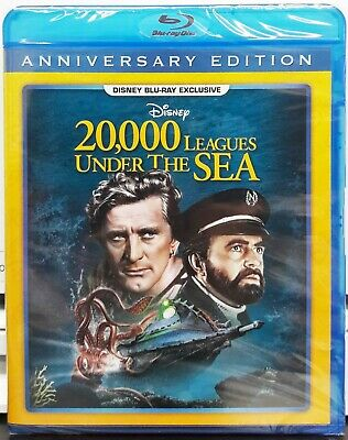 20,000 Leagues Under The Sea (1954 film, Blu-ray 2019) Disney Club Exclusive NEW