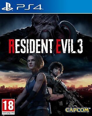 Resident Evil 3 Remake (PS4) IN STOCK Brand New & Sealed