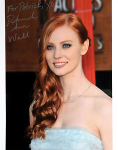 Deborah Ann Woll signed lovely 8x10 photo / autograph True Blood