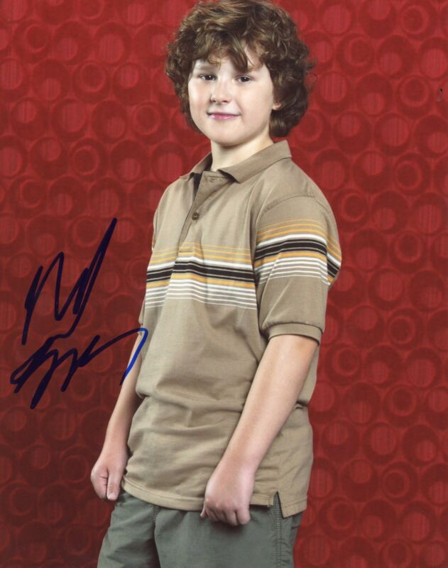 "Nolan Gould ""Modern Family"" AUTOGRAPH Signed 8x10 Photo"