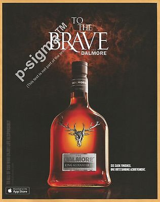 DALMORE Scotch Whisky - King Alexander III- Print Ad segunda mano  Embacar hacia Argentina