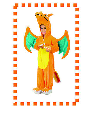 Pokemon Charizard Jumpsuit Toddler Costume, attached Wings/Tail 18M/2T, PP5088