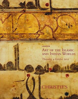INDIAN & ISLAMIC WORKS o ART CERAMICS TEXTILES GLASS PAINTINGS AUCTION CATALOGUE