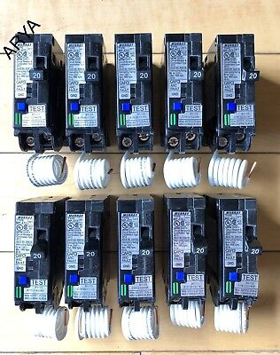 Lot Of 10 Murray Mpa120afc Mpa120afcp 20a Arc-fault Afci Breaker New