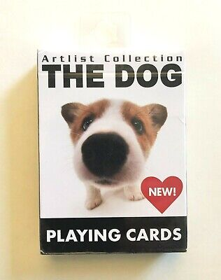 """""""The Dog"""" (Puppies) Playing Cards Mint & Sealed in the Package"""