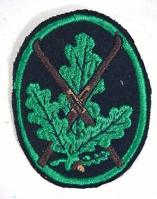 WW2 GERMAN SKI JAGER LEAVES PATCH