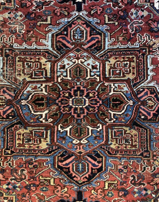 Tremendous Tribal - 1930s Antique Oriental Rug - Nomadic Carpet - 7.2 X 10 Ft.