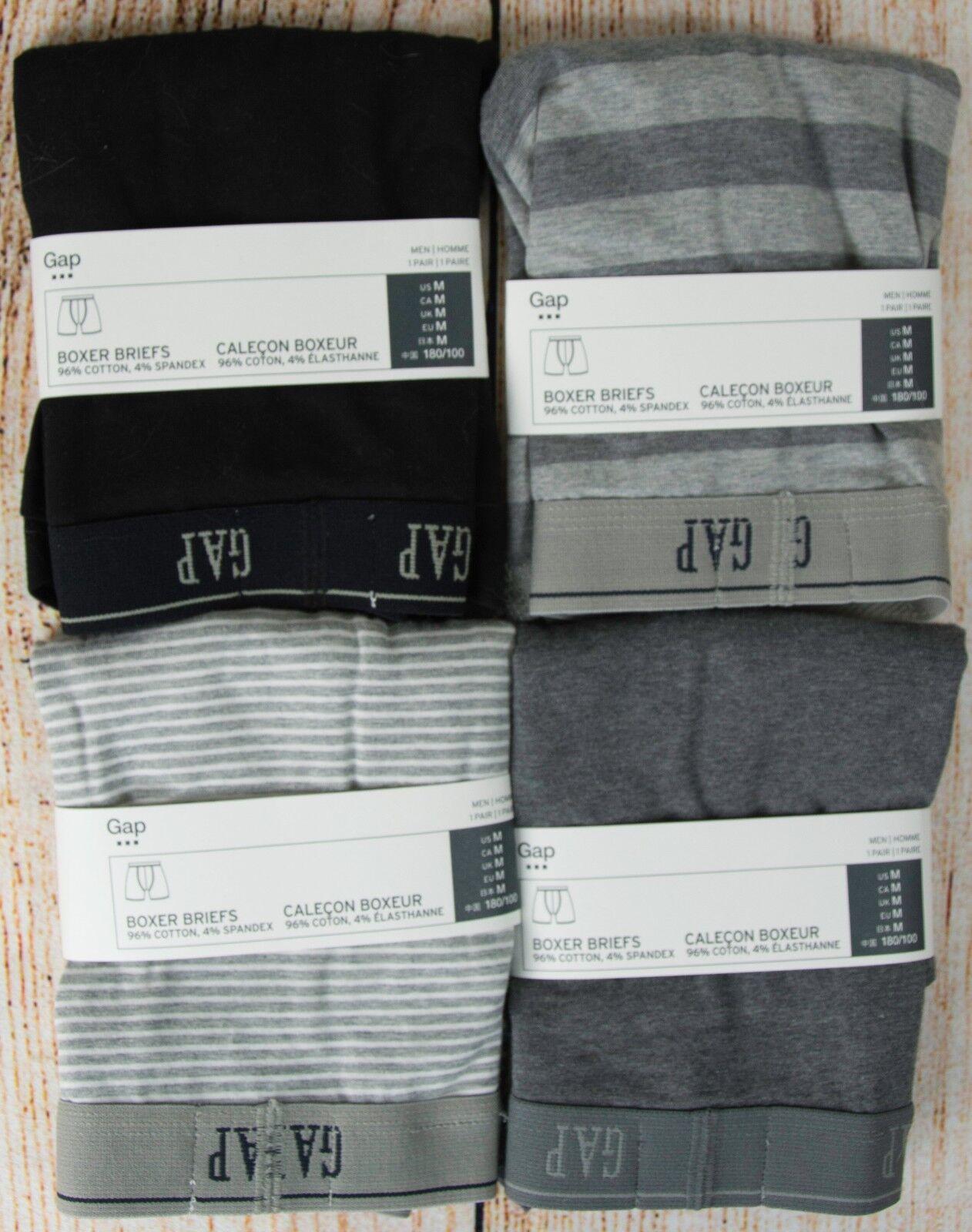 NIP Mens GAP Boxer Briefs Cotton/Spandex Blend Choose Size/P