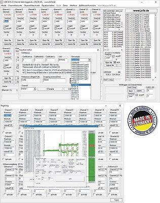 Multichannel 32-channel Data Logger Temperature Logger Thermocouple
