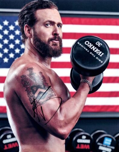 AJ Buckley A.J. Signed Autographed 8x10 Photo SEAL TEAM Actor Hot Shirtless COA