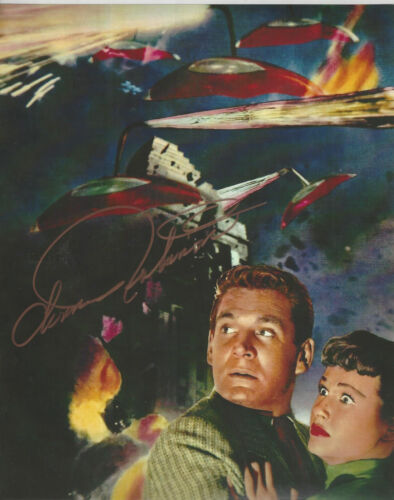 Movie The War of the Worlds Ann Robinson outstanding  Autographed 8x10 Photo