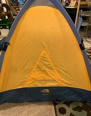 The North Face SlickRock Tent Blue Yellow 2 Person