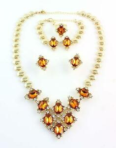 Gold Jewelry Set eBay