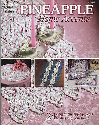 "Шаблоны ""PINEAPPLE HOME ACCENTS""~Annies Attic Crochet"