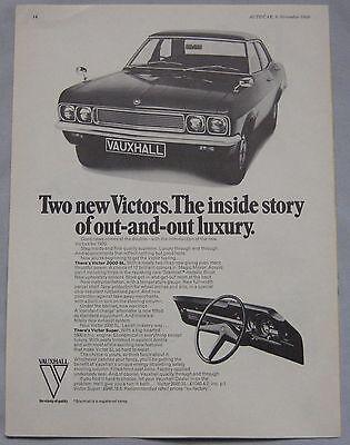 1969 Vauxhall Victor Original advert No.2
