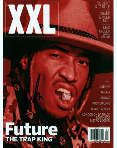 Future Rapper Hand Signed 8x10 Autographed Photo COA Mask Off