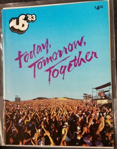 US Festival 1983 Concert Program -GOOD  Condition