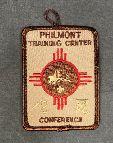 Philmont Training Center Conference Patch BSA Boy Scouts of America