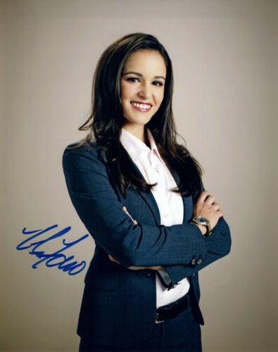 Melissa Fumero Signed Autograph 8x10 Photo Brooklyn Nine Nine Gossip Girl COA