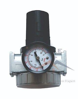 "1/2"" Air Pressure Regulator for Compressed Air Compressor w/ Gauge"