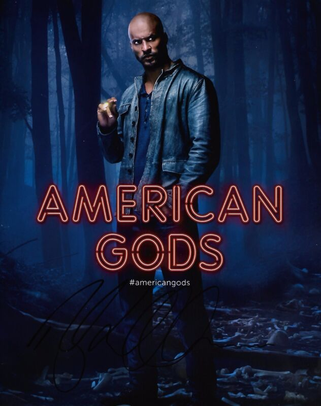Ricky Whittle American Gods Autographed Signed 8x10 Photo COA #A1