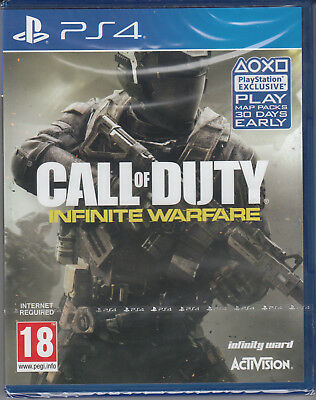 Call of Duty Infinite Warfare PS4 Zombies Sony PlayStation 4 Brand NEW Sealed
