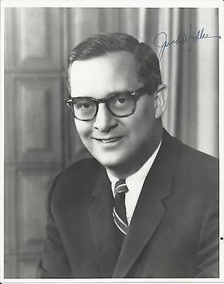 John Wydler - U.S. Representative Original Autographed 8x10 Signed Photo