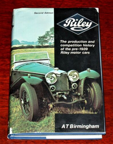 RILEY THE PRODUCTION & COMPETITION HISTORY by Birmingham - 1982 edition with DJ