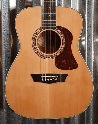 Washburn Heritage F11S Solid Cedar Folk Acoustic Guitar & Bag #2589