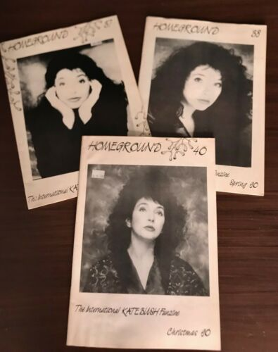 Kate Bush Homeground issues 37, 38 and 40