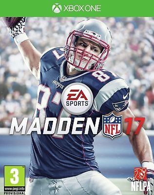 Madden NFL 17 Microsoft Xbox One Game 3+ Years - Argos eBay