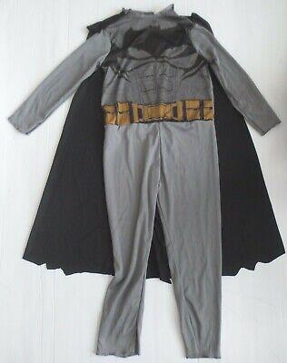 Superhero Batman Kids Costume With Cape - Size S/P (4-6) - NEW](Batman Kids)