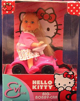 """HELLO KITTY** Eve Love**Big Bobby-Car** SIMBA-TOYS**neu und unbespielt"
