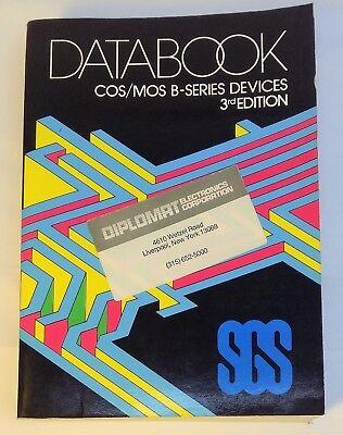 Руководство 1982 SGS - COS/MOS B-Series