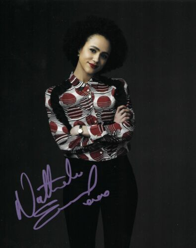 Nathalie Emmanuel Signed Four Weddings And A Funeral 10x8 Photo AFTAL
