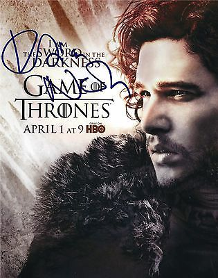 Kristian Nairn Signed Kit Harington Game Of Throne 8X10 Photo   Exact Proof
